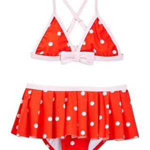 KATE SPADE GIRLS Polka Dot Two-Piece Swimsuit